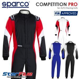 スパルコ レーシングスーツ 4輪用 COMPETITION PRO コンペティションプロ Sparco FIA公認|star5