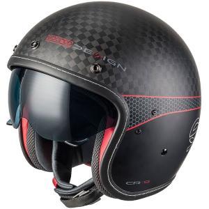 スパルコ ジェットヘルメット CR9 カーボン 2輪用|star5