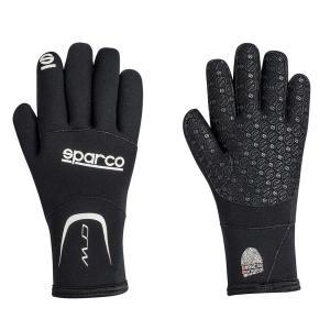 Sparco(スパルコ)レーシンググローブ CRWは、雨天や真冬のレースでの使用を想定して設計された...