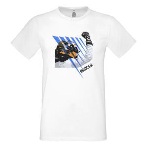 スパルコ Tシャツ DRIVER ホワイト|star5