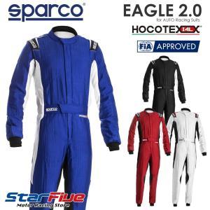 スパルコ レーシングスーツ 4輪用 EAGLE 2.0 (イーグル) FIA8856-2018公認 ...