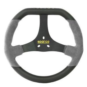 sparco(スパルコ) D型ステアリングF320U グレー レーシングカートパーツ|star5