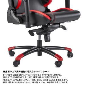 スパルコ ゲーミングチェア GRIP オフィスチェア リクライニング バケットシート 座椅子 耐荷重100kg Sparco|star5|09
