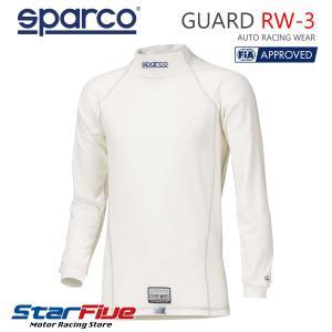 スパルコ アンダーウェア 長袖シャツ GUARD RW3 ガード FIA2000公認 2018年モデル|star5