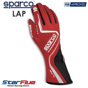 スパルコ レーシンググローブ 4輪用 LAP ラップ 内縫い RSNR FIA公認 Sparco star5