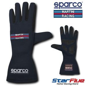 スパルコ レーシンググローブ 4輪用 マルティーニレーシング ネイビー 内縫い FIA公認 Sparco MARTINI RACING|star5