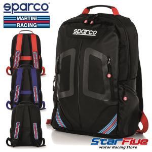 スパルコ×マルティーニレーシング リュックサックデイパック STAGE (ステージ) Sparco star5