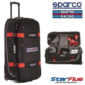 スパルコ×マルティーニレーシング キャリーバッグ TOUR (ツアー) Sparco star5