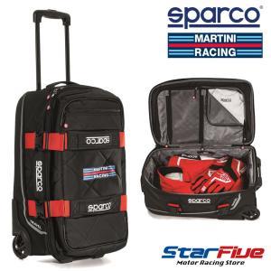 スパルコ×マルティーニレーシング キャリーバッグ TRAVEL (トラベル) Sparco star5