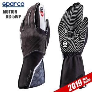 スパルコ レーシンググローブ カート用 MOTION KG-5WP モーション 外縫い Sparco|star5