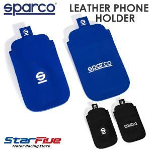 スパルコ スマートフォンケース iPhone レザー製スリーブカバーPHONE HOLDER Sparco|star5
