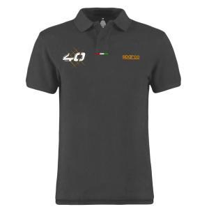 スパルコ ポロシャツ 40th グレー|star5