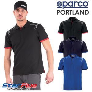 スパルコ ポロシャツ PORTLAND (ポートランド) Sparco|star5