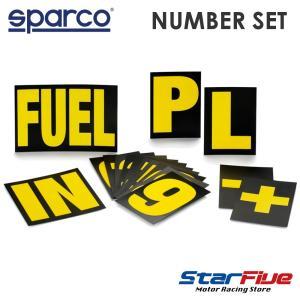 スパルコ サインボード ナンバーキット|star5