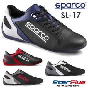 スパルコ ドライビングシューズ SL-17 Sparco 2019年モデル(サイズ交換サービス)|star5