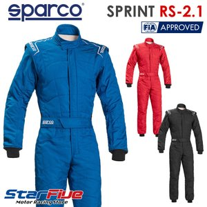 スパルコ レーシングスーツ 4輪用 スプリントRS2.1 FIA2000公認 2017年モデル(サイズ交換無料)|star5