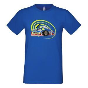 スパルコ Tシャツ GO ブルー|star5