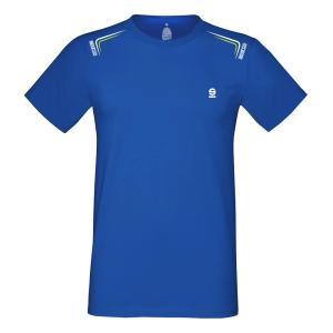 スパルコ Tシャツ SKID ブルー|star5