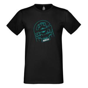 スパルコ Tシャツ TRON ブラック|star5
