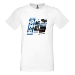 スパルコ Tシャツ TRACK ホワイト|star5