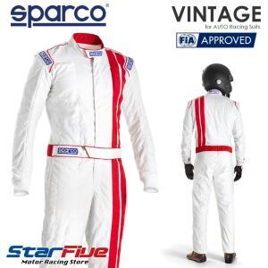 スパルコ レーシングスーツ 4輪用 VINTAGE CLASSIC(ヴィンテージクラシック)FIA公認 Sparco|star5