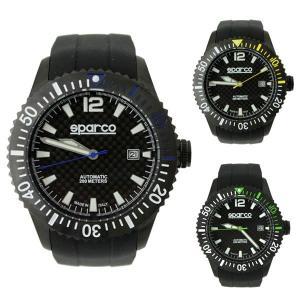 スパルコ ウォッチ CARBON(カーボン)自動巻き腕時計 200m防水|star5