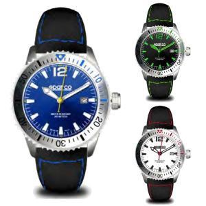スパルコ ウォッチ Lorica(ロリカ)クオーツ腕時計 200m防水|star5