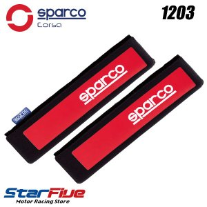 Sparco CORSA(スパルコ コルサ) ショルダーパッド レッド|star5