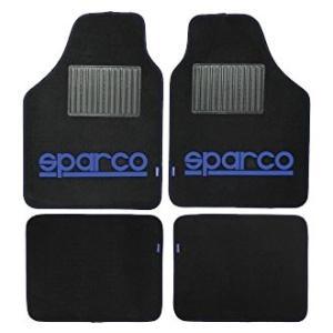 Sparco CORSA(スパルコ コルサ)フロアマット 4枚セット ブルー|star5