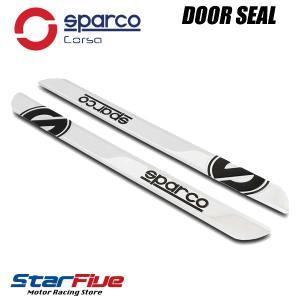 スパルコ ドアシルガードステッカー Sサイズ Sparco corsa|star5