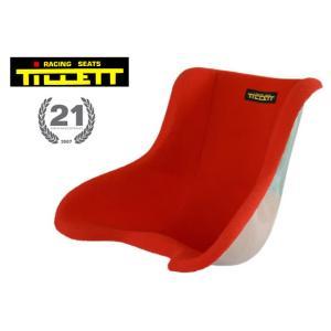 TILLETT/ティレッティ フルモケットシート レッド レーシングカートパーツ|star5