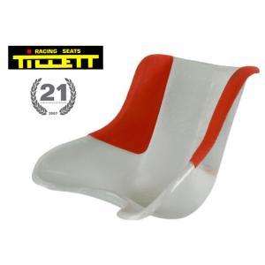 TILLETT/ティレッティ シート T8 リブガード レッド レーシングカートパーツ|star5