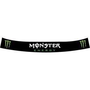 ヘルメットバイザーステッカー MONSTER(モンスター)|star5