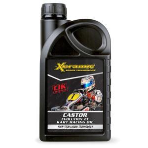 Xeramic CASTOR EVO2T 2サイクル用エンジンオイル 1000ml CIK-FIA公認|star5