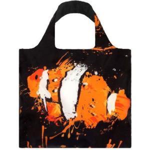 LOQI(ローキー)のエコバッグです。   バッグサイズ:W50cm×H42cm(内側ポケット:14...