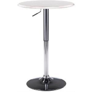 ターンテーブル バーテーブル カウンターテーブル モダンデザイン レザー張りタイプ 昇降式 セール hawks_sale14|star
