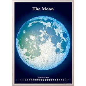精密夜光月面図額装ポスター デラックス|starbook