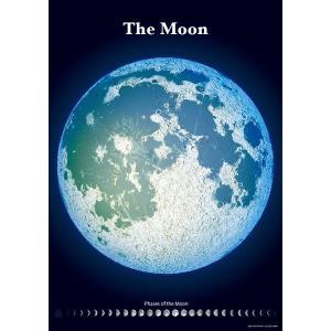 精密夜光月面図|starbook