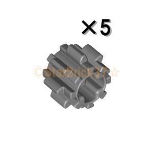 レゴ LEGO テクニックパーツ ばら売り テクニックギア8歯(タイプ2):ダークブルーイッシュグレイ(5個セット)|starbrick37-lego