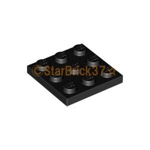 レゴ LEGO パーツ ばら売り プレート3×3:ブラック|starbrick37-lego
