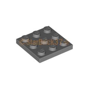 レゴ LEGO パーツ ばら売り プレート3×3:ダークブルーイッシュグレイ|starbrick37-lego