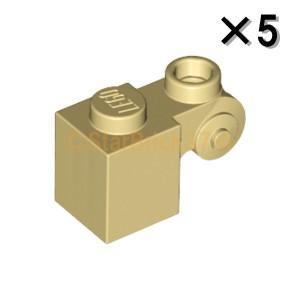 レゴ LEGO パーツ ばら売り ブロック1×1(装飾渦巻き付):タン(5個セット)|starbrick37-lego