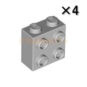 レゴ LEGO パーツ ばら売り ブロック1×2×1 2/3(1方向スタッド):ライトブルーイッシュグレイ(4個セット)|starbrick37-lego