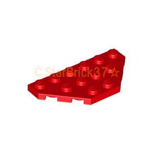 レゴ LEGO パーツ ばら売り プレート3×6コーナー無:レッド|starbrick37-lego