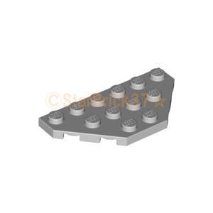 レゴ LEGO パーツ ばら売り プレート3×6コーナー無:ライトブルーイッシュグレイ|starbrick37-lego