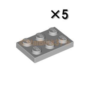 レゴ LEGO パーツ ばら売り プレート2×3:ライトブルーイッシュグレイ(5個セット)|starbrick37-lego