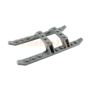 レゴ LEGO 飛行機パーツ ばら売り ソリベース12×6:ダークブルーイッシュグレイ|starbrick37-lego