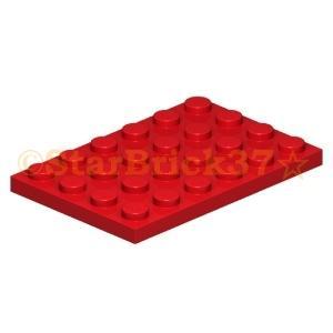 レゴ LEGO パーツ ばら売り プレート4×6:レッド|starbrick37-lego