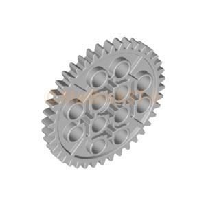 レゴ LEGO テクニックパーツ ばら売り テクニックギア40歯:ライトブルーイッシュグレイ|starbrick37-lego