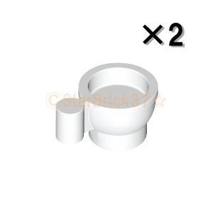 レゴ LEGO 食器パーツ ばら売り ティーカップ:ホワイト(2個セット)|starbrick37-lego